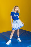 NIEUW !!! Blauw T-shirt (Looxs Revolution)_