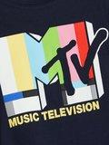 NIEUW !!! Blauw T-shirt MTV (Name It)_