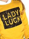 Sweater Lady luck warm yellow (Funky XS)_