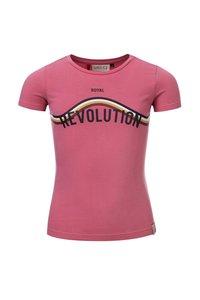 NIEUW !!! Roze T-shirt (Looxs Revolution)