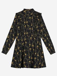 NIEUW !!!  Chainy dress black (NIK&NIK)