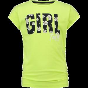NIEUW !!! Neon geel T-shirt Hilany (Vingino)