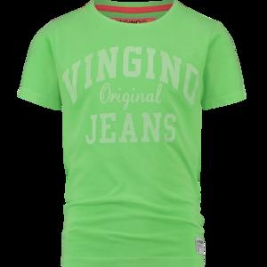 NIEUW !!! T-shirt Hawali neon green (Vingino)