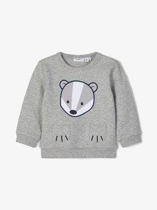 NIEUW !!!  Grijze sweater Norre (Name It)