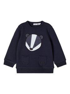 NIEUW !!! Blauwe sweater Norre (Name It)