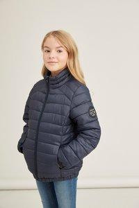 NIEUW !!! Blauwe gewatteerde jas (Name It)