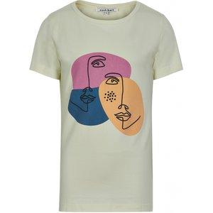 NIEUW !!! Wit T-shirt Olga (Cost:bart)