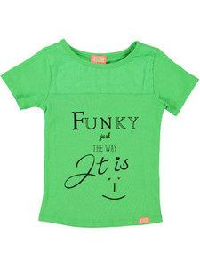 T-shirt Ba batika fluo green (Funky XS) OUTLET