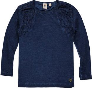 Blauwe longsleeve (Indian Blue Jeans) OUTLET