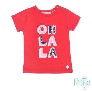 T-shirt k/m Oh la la Sea view (Feetje)  OUTLET