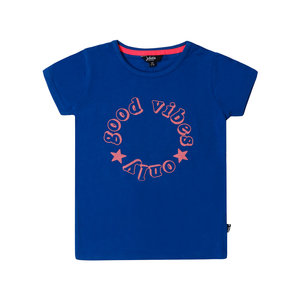 Blauw T-shirt (Little Miss Juliette) OUTLET