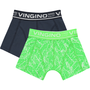 NIEUW-!!!-Short-2-pack-Leaf-neon-green-(Vingino)