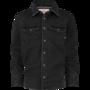 NIEUW-!!!-Zwart-jeanshemd-Luuk-(Vingino)