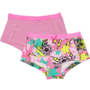 NIEUW-!!!-Short-2-pack-pink-flower-(Vingino)