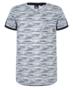 T-shirt-V-neck-tape-navy(Indian-Blue-Jeans)-OUTLET